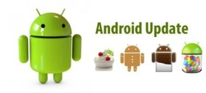 update android phone