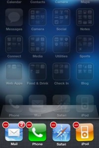 close iphone apps on iOS6 or earlier