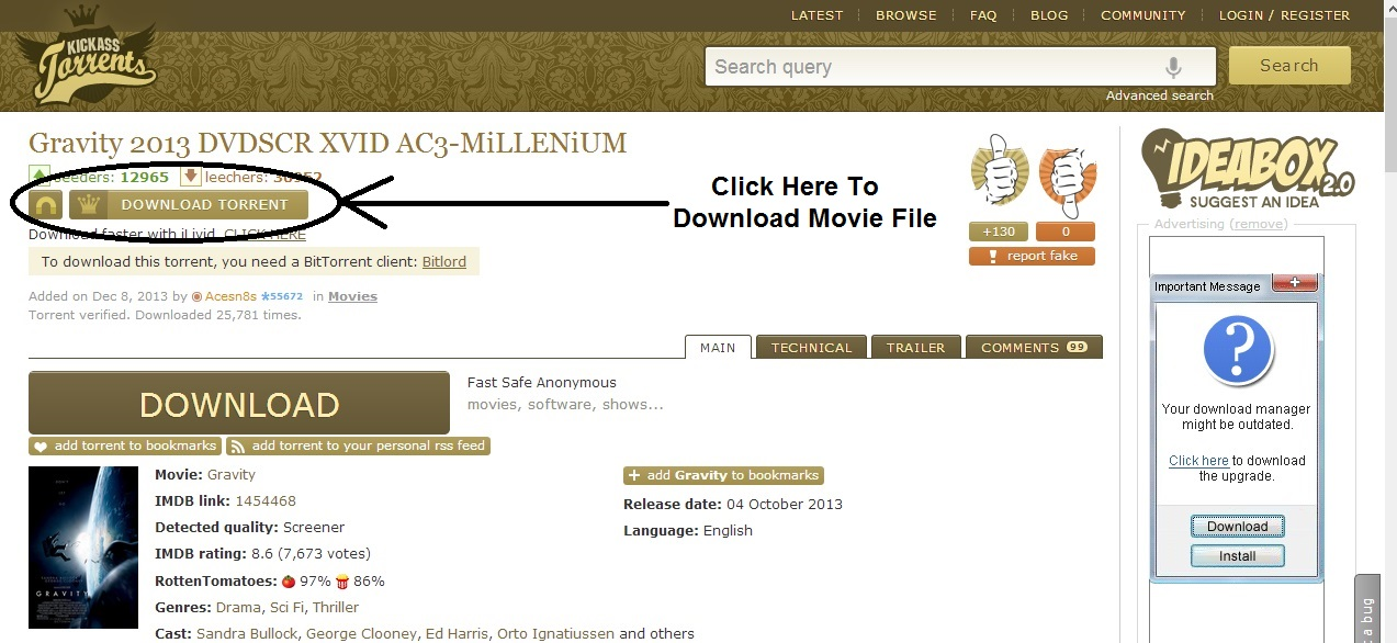 free download movies sites