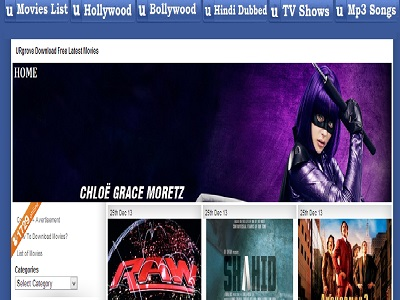 Urgove popular website to download free movies